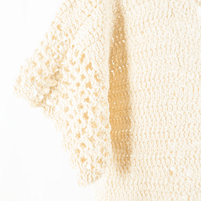Sweater Calado Hueso