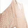 Sweater Calado Beige