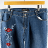 Jeans Flowers Flare