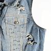 Punk Sleeveless Jacket