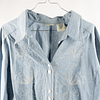 Blusa Light Denim Embroidery
