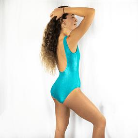 Swimsuit Turquesa 80s