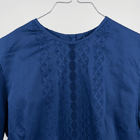 Blusa Cotton Blue