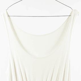 Vestido total white