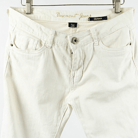 Pantalón White Denim