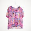 Blusa/Camisa 90s psicodelia