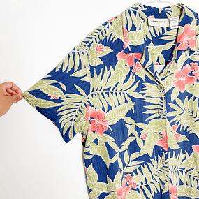 Blusa/Camisa Hawaiian Flowers