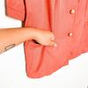 Little Vintage Jacket: Salmón