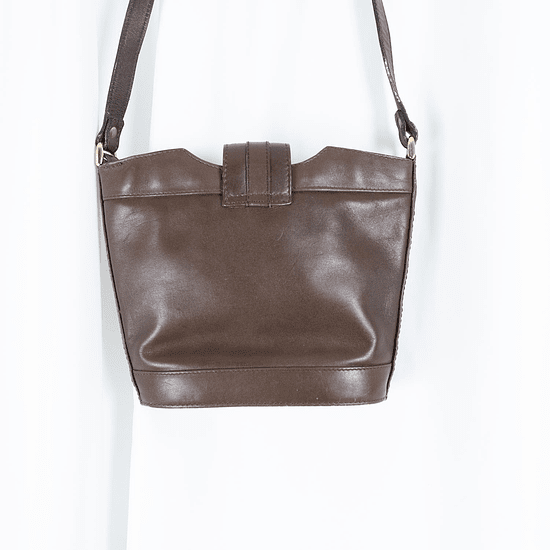 Brown Leather and Suede Purse