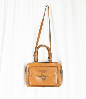 Leather Spazio Bag