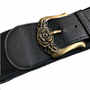 Elastic Golden Rose Belt
