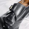 Black Buckle Shoes