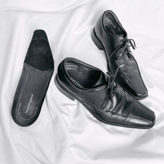 Derby Black Shoes