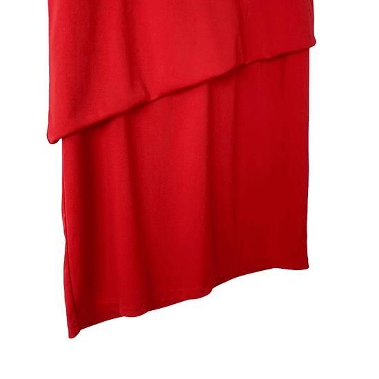 Red Blocks Dress