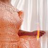 Peach Lace