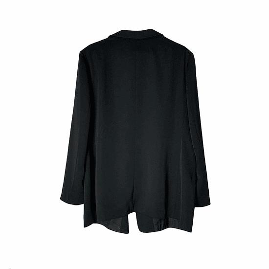 Black Minimal Blazer