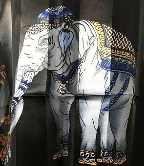 Pañuelo Indian Elephant