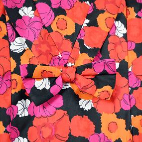 Vestido Flores en Seda