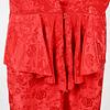 Vestido Rosas en Seda
