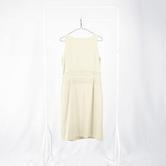 Vestido Cacharel Crema