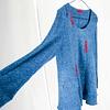 Sweater Blue Long