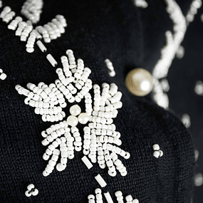 Cardigan Embroidery