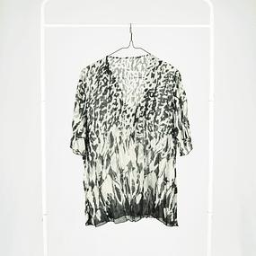 Blusa Zebra Folds