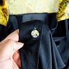 Maxi Blusa Black & Gold