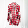 Blusa/Camisa Cuadrillé Roja