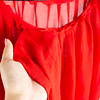 Blusa Tulipán Rojo