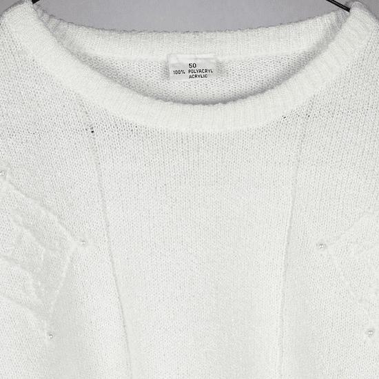 Sweater White 60s