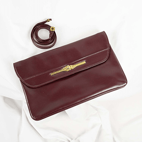 Flap Vintage Brown Gold