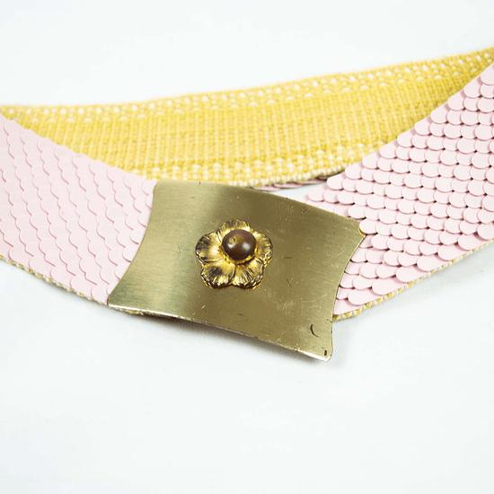 Cinturón Pink Scales 60s