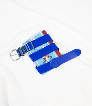 Cinturón Azulino 80s