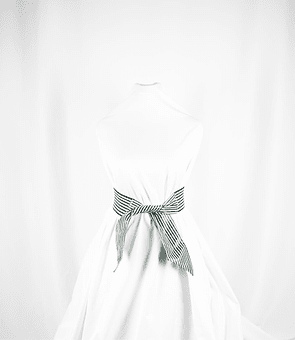 Cinturón White Stripes