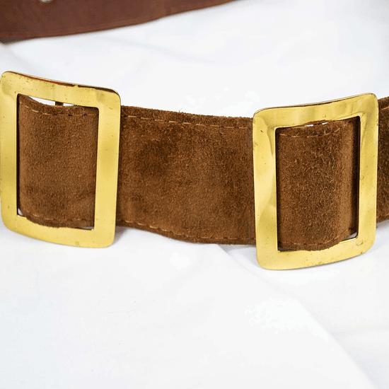 Cinturón Golden Chocolate