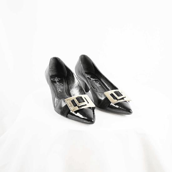 Mocasín Black&Gold