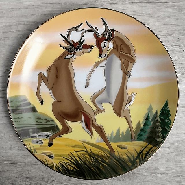 """Plato de Colección """"Bambi"""" (Edición Limitada)."""