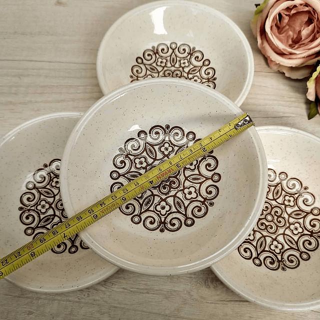Set de Bowls de Cereal Biltons, años 70.