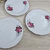 Set de platos de Pan, Porcelana China.