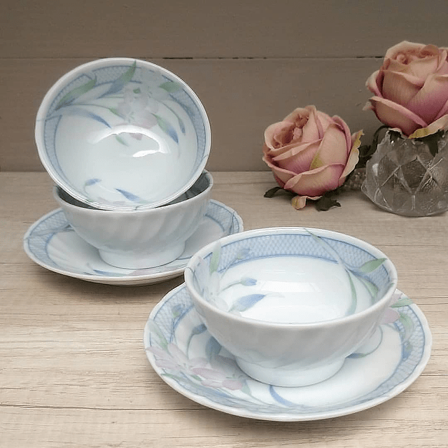 Set de Porcelana Oriental.