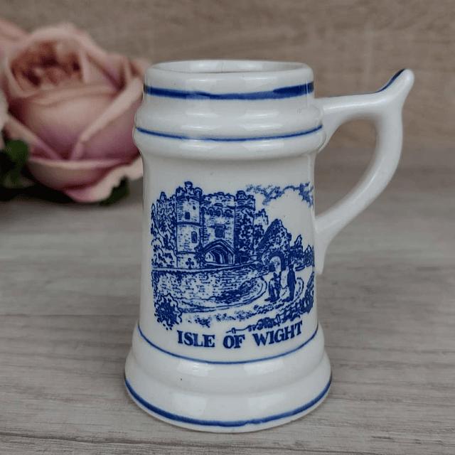 Jarra Miniatura Blue & White