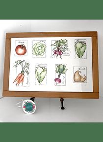 Tabla picoteo verduras