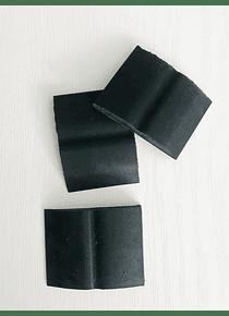 Goma alisa calcos negra