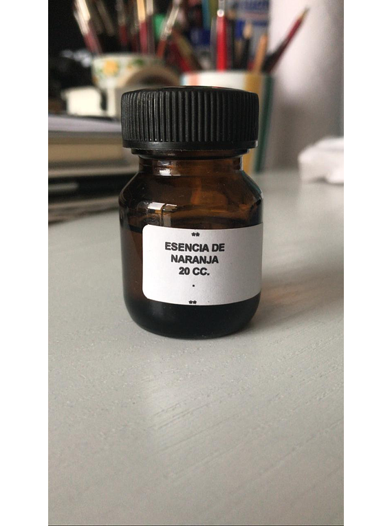 Esencia de naranja - 50 cc.