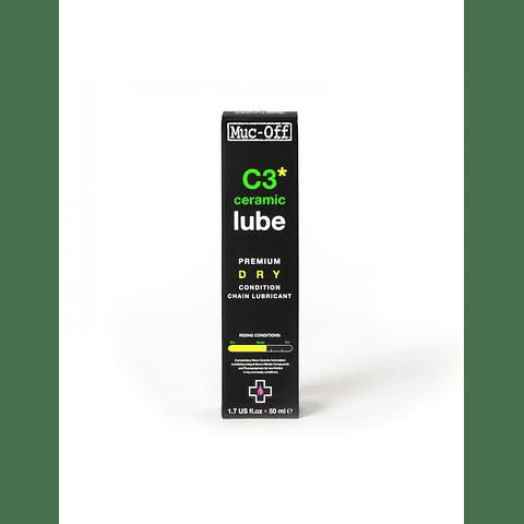 Aceite Lubricante MUCOFF C3 Cerámico DRY LUBE 50 ML