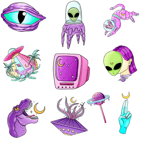 Stickers Pack 1