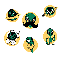 Stickers Pack 6