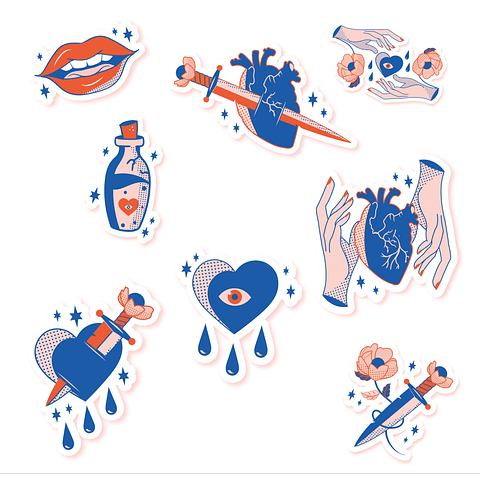 Stickers Pack 10