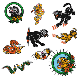 Stickers Pack 11